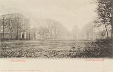 2272 Gezicht op de Zuidsingel te Middelburg met links de Lutherse kerk en op de achtergrond de watertoren
