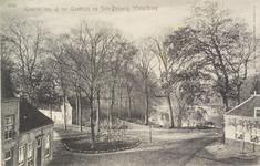 2346 Gezicht vanaf het Gasthuis op het Seisbolwerk te Middelburg