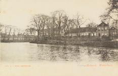 2357 Gezicht op het Bastion en een deel van de Veersesingel te Middelburg
