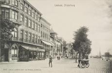 2506 Gezicht op het begin van de Loskade te Middelburg