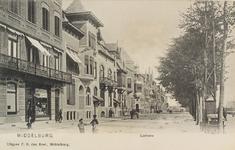 2508 Gezicht op een deel van de Loskade te Middelburg