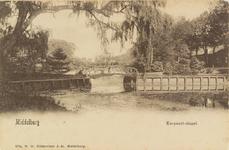 2634 Gezicht op de Koepoortbrug te Middelburg