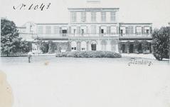 267 Gezicht op het Badhotel te Domburg