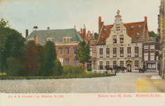 2819 Gezicht op de Balans te Middelburg met de Sint Jorisdoelen