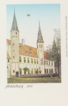 2938 Gezicht op het Rijksarchief aan het Abdijplein te Middelburg