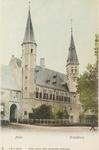 3004 Gezicht op de S.P.Q.M.-poort en het Rijksarchief aan het Abdijplein te Middelburg
