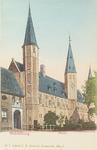 3006 Gezicht op de S.P.Q.M.-poort en het Rijksarchief aan het Abdijplein te Middelburg