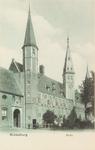 3011 Gezicht op het Abdijplein te Middelburg met de S.P.Q.M.-poort, het Rijksarchief en de Balanspoort