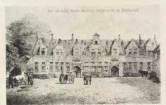 3422 Gezicht op het voormalig Armenweeshuis (werkhuis) bij de Noordpoort te Middelburg.Naar een steendruk van Emrik en ...