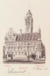 3742 Het stadhuis aan de Grote Markt te Middelburg