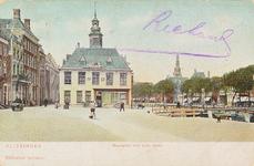 4005 Gezicht op het Beursplein met de beurs te Vlissingen, gelegen tussen de Beursstraat en het Bellamypark