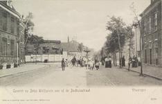 4023 De fontein op het Betje Wolffplein te Vlissingen, gezien vanuit de Badhuisstraat