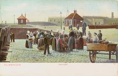 4047 Gezicht op de Vismarkt of Vismijn te Vlissingen