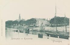 4061 Gezicht op de Koopmanshaven, de Bellamykade en de Nieuwendijk te Vlissingen