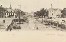 4069 Gezicht op de Koopmanshaven met de Voorhaven, de Beurs en de Beursbrug te Vlissingen