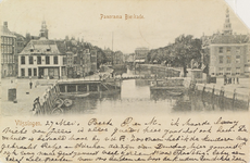 4074 Gezicht op de Koopmanshaven met de Beurs en de Beursbrug te Vlissingen