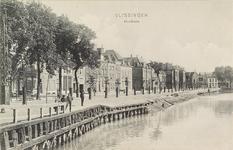 4089 Gezicht op een deel van de Hooikade, tegenwoordig de Hendrikstraat te Vlissingen