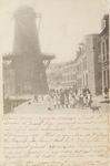 4101 Gezicht op de molen op de hoek van de Kaaskade en de Molenstraat te Vlissingen