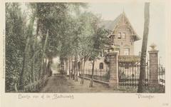 4121 Gezicht op vermoedelijk de Kerkhoflaan te Vlissingen