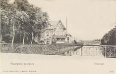 4176 Gezicht op de Vlissingse Watergang en de Kerkhoflaan, tegenwoordig Koudekerkseweg te Vlissingen