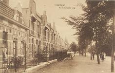4188 Gezicht op een deel van de Koudekerkseweg te Vlissingen met poserende personen