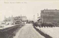 4936 Gezicht op Boulevard Evertsen te Vlissingen, met op het eind Grand Hotel Britannia
