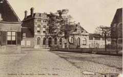 5652 Gezicht op de pastorie, het latere gemeentehuis van Kloetinge