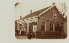 5839 Gezicht op Café De Scheepvaart van Pieternella Sonke aan de Wilhelminastraat in Wemeldinge