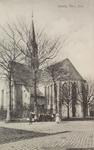 5930 Gezicht op de Nederlandse Hervormde kerk in Yerseke