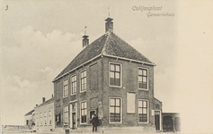 5991 Het gemeentehuis te Colijnsplaat