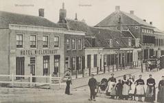 6055 Gezicht op de Voorstraat te Wissenkerke (Noord-Beveland)