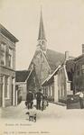 6178 Gezicht op de Korte Ring te Bruinisse met de Nederlandse Hervormde kerk