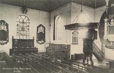 6228 Het interieur van de Nederlandse Hervormde kerk van Burgh