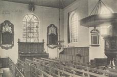 6229 Het interieur van de Nederlandse Hervormde kerk van Burgh