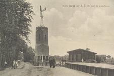 6234 De halte van de Rotterdamsche Tramweg Maatschappij te Burgh, met de watertoren