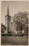 6258 De Nederlandse Hervormde kerk te Dreischor, gezien aan de zijde van de toren