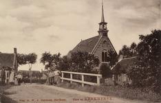 6402 Gezicht op de Ring met de Nederlandse Hervormde kerk te Kerkwerve