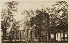 6588 De Nederlandse Hervormde kerk in Renesse vanuit het zuidwesten