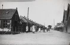 7473 Gezicht op een straat in de Anna Jacobapolder (gemeente Sint Philipsland)