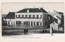 7854 Gezicht op het voormalige postkantoor te Terneuzen, gesloopt in 1901