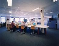 5526-3 Openstudieruimte in schoolgebouw ROC Westerschelde, Vlietstraat 11a te Terneuzen, ontworpen door architect B. ...
