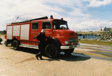 AR-0037-091 Neeltje Jans. Brandweerauto kenteken 05-15-RB uit 1971
