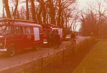 AR-0037-135 Renesse. Driehoek / Oude Moolweg. Links de Opel Blitz BE met kenteken XA-41-32 afgegeven op 23.3.1967 van ...