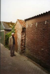 B-0080 Bruinisse. Achterzijde van het voormalige arrestanten lokaal ( het Bodekotje genaamd) achter het voormalige ...