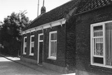 B-1446 Bruinisse. Bergstraat. Bergstraat nr. 12, gesloopt in 1971