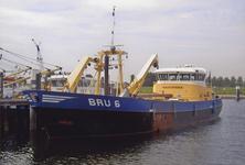 BRU-2899 Bruinisse. Haven. Motorkotter BRU 6, 'Cornelis Pieter'. Gebouwd in 1998 in opdracht van Wout van den Berg