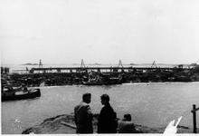 D-0273A Nieuwerkerk / Stevensluis. Sluiting van het dijkgat.