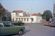 DIA-14725 Zierikzee. Havenplein. Hotel restaurant Concordia