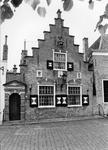 DRS-0412 Dreischor. Ring. Het Plaesen'Uus. Het werd van 1637 tot begin jaren 60 van de 20e eeuw gebruikt als raadhuis ...