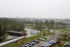 IMG-1980 Zierikzee. Houwersweg/Zuidwellebrug. Aanleg van een dam door de gracht, ten behoeve van de afvoer ...